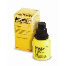 BETADINE 100 MG/ML SOLUCION TOPICA 1 FRASCO 50 ML