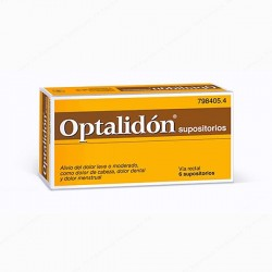 OPTALIDON 500/75 MG 6 SUPOSITORIOS