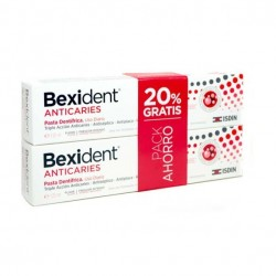 BEXIDENT DUPLO PASTA ANTICARIES 2X125ML