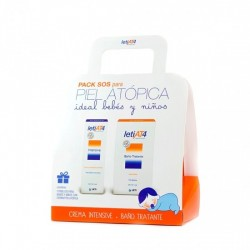 LETI AT4 PACK SOS CREMA INTENSIVA 100 ML + BAÑO TRATANTE 200 ML
