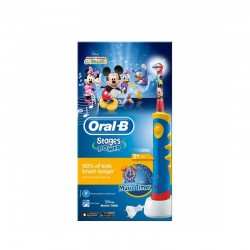 CEPILLO DENTAL ELECTRICO RECARGABLE INFANTIL ORAL-B STAGES MICKEY +3 AÑOS SUAVE