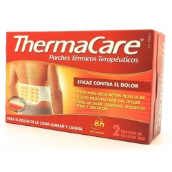 THERMACARE ZONA LUMBAR Y CADERA PARCHES TERMICOS 2U