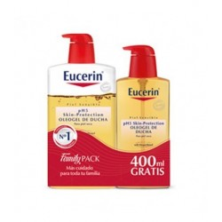 EUCERIN PACK OLEOGEL 1L +400ML REGALO