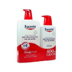 EUCERIN PACK GEL 1L + 400ML REGALO