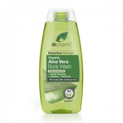 DR ORGANIC ALOE VERA BODY WASH 250ML
