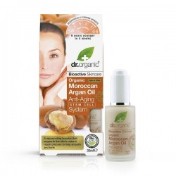 DR ORGANIC MOROCCAN ARGAN OIL ANTI-AGING STEM CELL SYSTEM 30ML