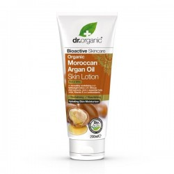 DR ORGANIC MOROCCAN ARGAN OIL SKIN LOTION 200ML