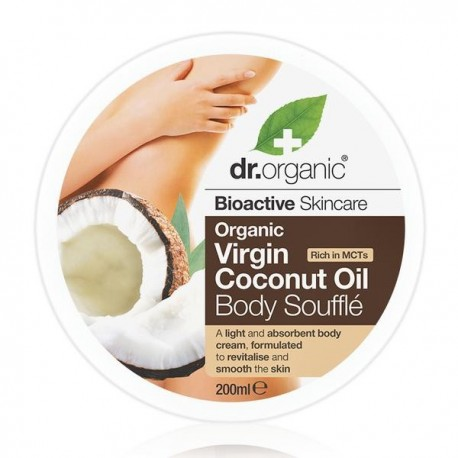 DR ORGANIC VIRGIN COCONUT OIL BODY SOUFFLE