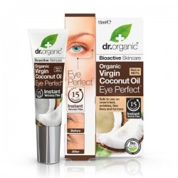 DR ORGANIC VIRGIN COCONUT OIL EYE PERFECT 15ML