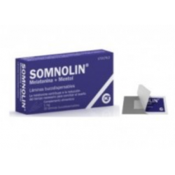 SOMNOLIN MELATONINA + MENTA 1.9 MG 30 LAMINAS BUCODISPERSABLES