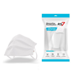RS7 MASCARILLA REUTILIZABLE BLANCA