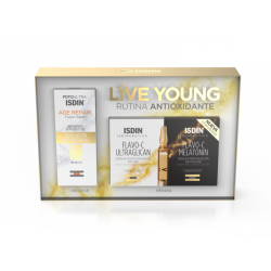 ISDINCEUTICS LIVEYOUNG RUTINA ANTIOXIDANTE (5 DAY + 5 NIGHT + AGE REPAIR)